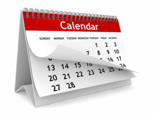 vacation rental listing calendar