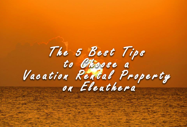 5 tips to choose a vacation rental